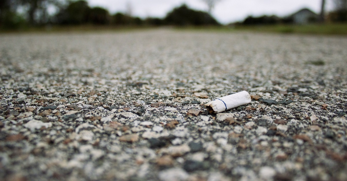Survey: Fewer Motorists Littering